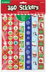 Christmas Paper Sticker Big Pack | Party Supplies