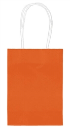 "Orange 5"" Kraft Bag 