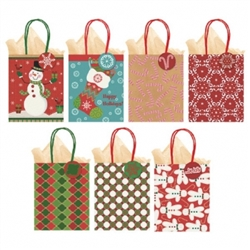 Small Kraft Vertical Bags - Multi Pack | Party Supplies