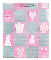 Wedding Bliss Medium Specialty Bags | Party Supplies