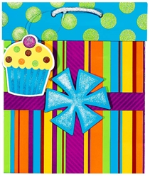 Birthday Present Medium Specialty Bags | Party Supplies