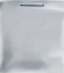 Silver Matte Bag - Medium Size | Party Supplies
