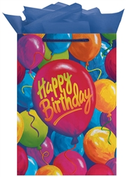 Painted Balloons Jumbo Glossy Bags | Party Supplies