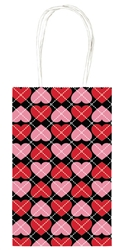 Valentines Day Trendy Paper Cub Bag Value Pack | Valentines supplies