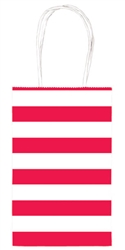 Apple Red Stripe Printed Cub Bags | Party Supplies