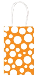 Orange Peel Dot Printed Cub Bags | Party Supplies