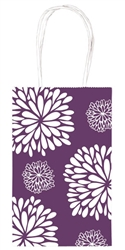 Purple Mum Printed Cub Bags | Party Supplies