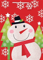 Whimsical Snowman Extra Large Bags | Party Supplies
