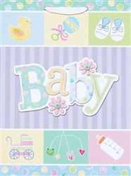 Baby Shower Jumbo Specialty Bags | Party Supplies