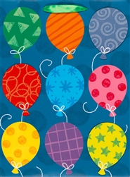 Funky Balloons Jumbo Specialty Bags | Party Supplies