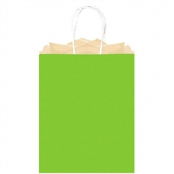Kiwi Solid Large Kraft Bags | Party Supplies