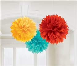 Fiesta Fluffy Decorations | Party Supplies