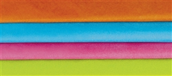 Brights Tissue Mix - 20/piece | Party Supplies