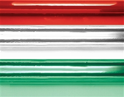 Cello Wrap Assortment - Red/Green/Clear | Party Supplies