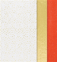 Metallic Tissue - Hot Stamped | Party Supplies