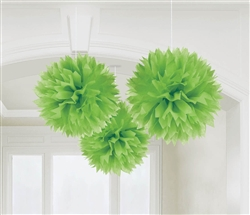 Fluffy Decorations - Kiwi | party supplies
