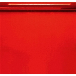 Red Cello Wrap - 16' | Party Supplies