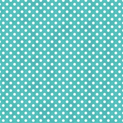 Robin's-egg Dot Printed Tissue - 8/piece | Party Supplies