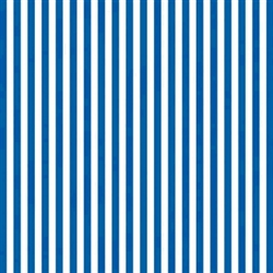 Royal Blue Stripe Printed Tissue - 8/piece | Party Supplies