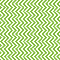 Kiwi Zig Zag Printed Tissue - 8/piece | Party Supplies