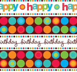 Modern Birthday Gift Wrap | Party Supplies