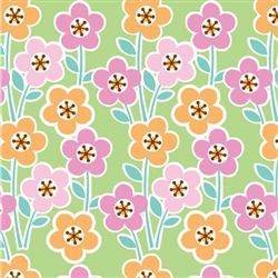 Floral Garden Gift Wrap | Party Supplies