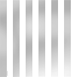 Silver Stripe Gift Wrap | Party Supplies