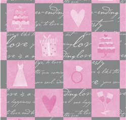 Wedding Bliss Gift Wrap | Party Supplies