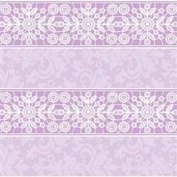 Lavender Lace Gift Wrap | Party Supplies