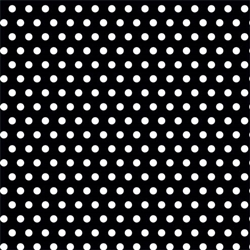 Black Polka Dot Gift Wrap | Party Supplies