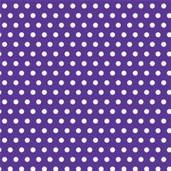Purple Polka Dot Gift Wrap | Party Supplies