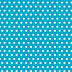 Caribbean Polka Dot Gift Wrap | Party Supplies