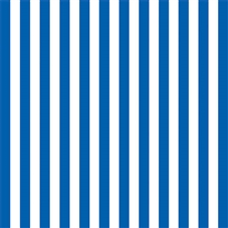 Royal Blue Stripe Gift Wrap | Party Supplies