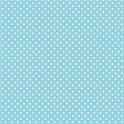 Pastel Blue Polka Dot Gift Wrap | Party Supplies