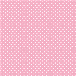 New Pink Polka Dot Gift Wrap | Party Supplies