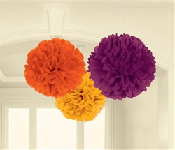 Fall Fluffy Decorations | Party Supplies