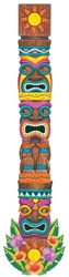 Tiki Island Jointed Cutouts | Luau Party Supplies
