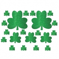 Shamrock Mega Value Pack Cutouts | party supplies