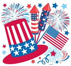 Patriotic Paper Cutout | Party Supplies