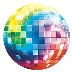Disco Fever Glossy Paper Cutouts | Party Supplies