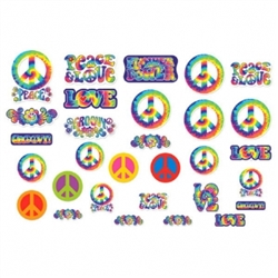 Feeling Groovy Mega Value Pack Cutouts | Party Supplies