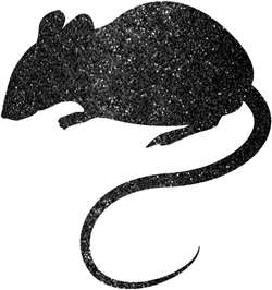 Blood Manor Mice Silhouette