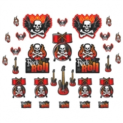 Rock On Mega Value Pack Cutout Assortment | Party Supplies