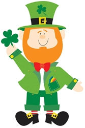 Leprechaun Jointed Cutout | Party supplies