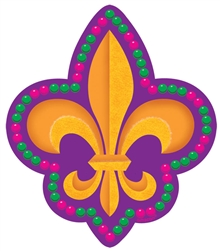 Mardi Gras Cutout-Small | Mardi Gras Decorations