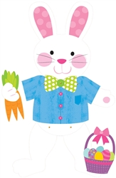 Rabbit Jointed Cutout | Party Supplies
