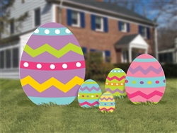 Easter Egg Signs | Easter Decorations