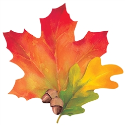 Fall Leaves Cutout | Party Supplies