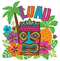 "15"" Luau Cutout 