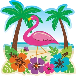 "10-1/2"" Luau Cutout 